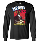 Blind Lemon Jefferson - Men's Long Sleeve T-Shirt