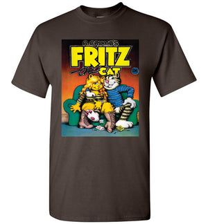 Fritz the Cat Cover - Men's Short Sleeve T-Shirt