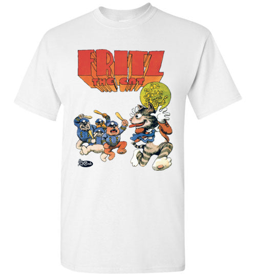 Fritz the Cat Bugs Out - Men's Short Sleeve T-Shirt