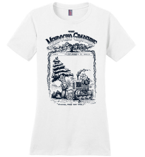 Mendocino Grapevine Tree Hugger - Women's T-Shirt