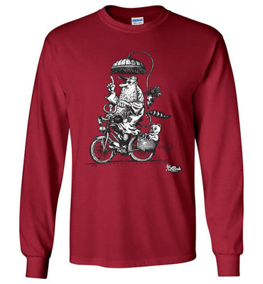 Mr. Natural Touring - Men's Long Sleeve T-Shirt