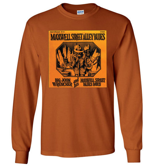Maxwell Street Alley Blues - Men's Long Sleeve T-Shirt