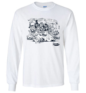 Clown Car- Men's Long Sleeve T-Shirt