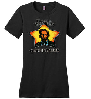 King of the Delta Blues, Charley Patton - Women's T-Shirt