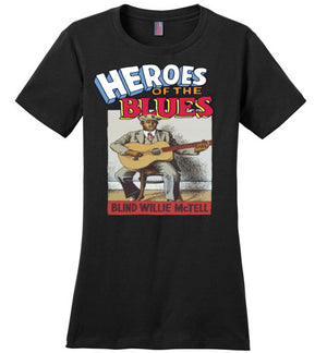 Blind Willie McTell - Women's T-Shirt