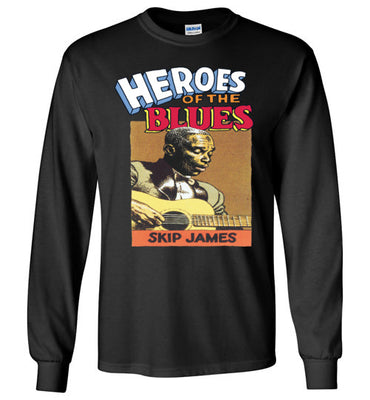 Skip James - Men's Long Sleeve T-Shirt
