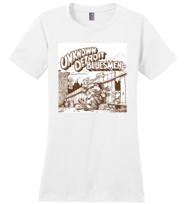 The Unknown Detroit Blues Men - Women's T-Shirt