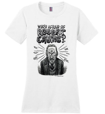 Who's Afraid of Robert Crumb - Women's T-Shirt