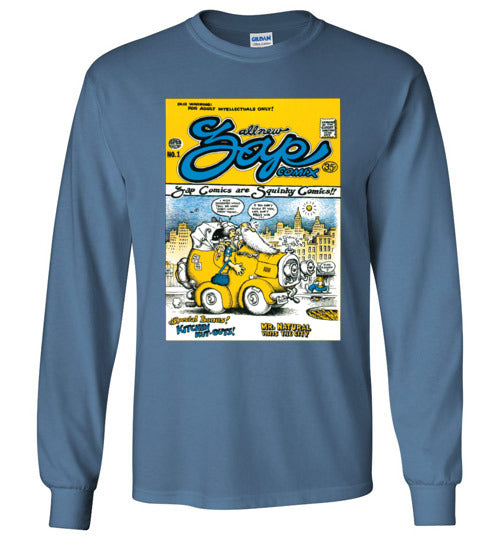Zap Comix Cover No. 1 - Men's Long Sleeve T-Shirt