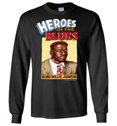 Blind Willie Johnson - Men's Long Sleeve T-Shirt