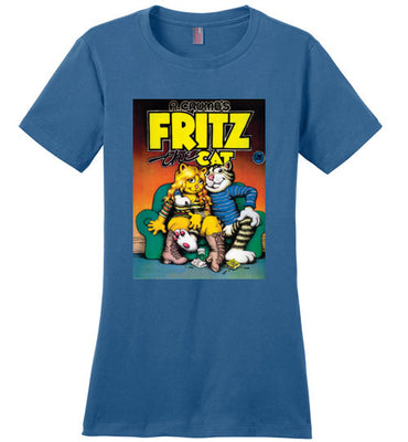 Fritz the Cat Cover - Women's T-Shirt