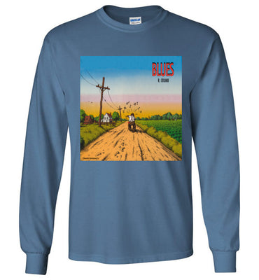 Blues - Men's Long Sleeve T-Shirt