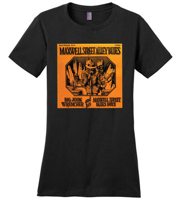 Maxwell Street Alley Blues - Women's T-Shirt