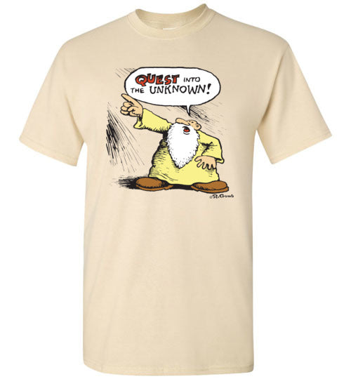 Mr. Natural Quest into the Unknown - Men's Short Sleeve T-Shirt