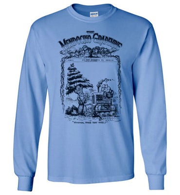 Mendocino Grapevine Tree Hugger - Men's Long Sleeve T-Shirt