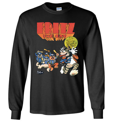Fritz the Cat Bugs Out - Men's Long Sleeve T-Shirt