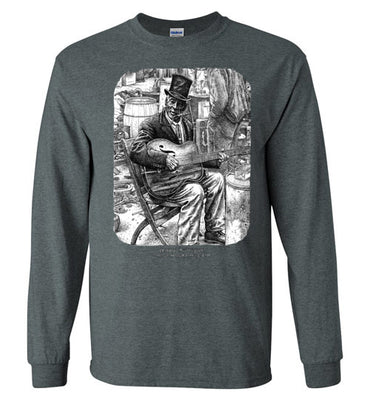Daddy Stovepipe - Men's Long Sleeve T-Shirt