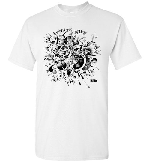 Mutate Now in Black - Men's Short Sleeve T-Shirt