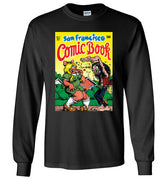 San Francisco Comic Book - Men's Long Sleeve T-Shirt