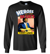 Furry Lewis - Men's Long Sleeve T-Shirt