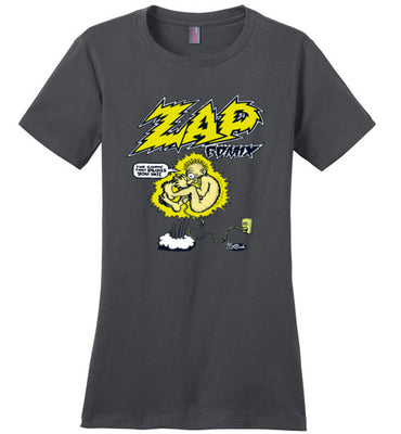 Zap Comix Plugged In - Women's T-Shirt