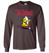 Mr. Natural Scootin' - Men's Long Sleeve T-Shirt