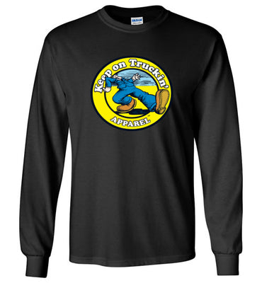 Keep On Truckin' Apparel  Logo - Men's Long Sleeve T-Shirt