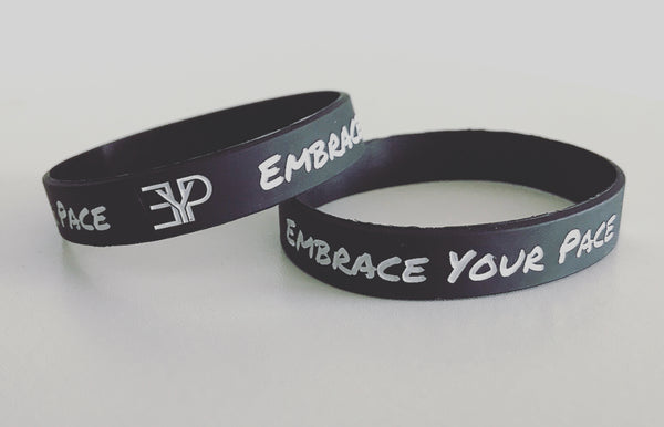 EYP Wristband - Embrace Your Pace