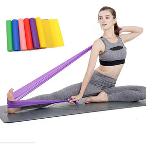 Sports & Entertainment 6 Levels Elastic Resistance Bands Gym Strength Training Rubber Loops Bands Exercises Fitness Yoga Loop Band Latex Crossfit