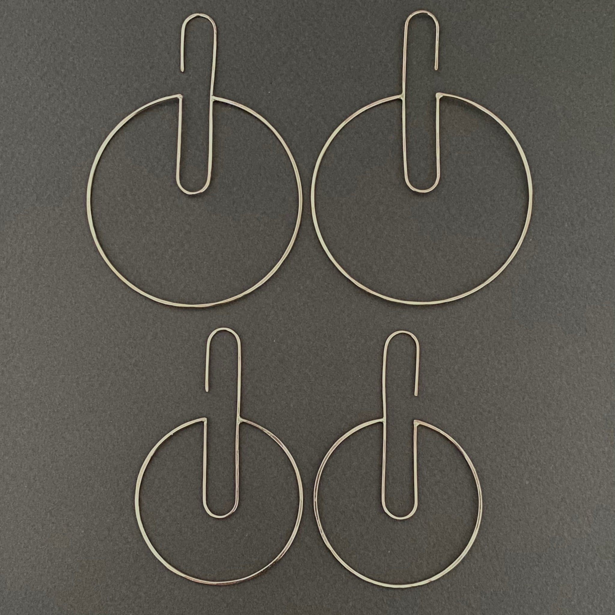 Double U Hoop - Round, Long, Narrow