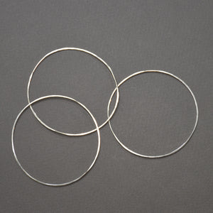 Hammered Bangle - Round