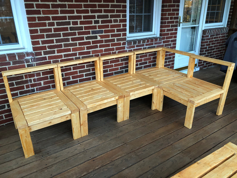 Building: Porch Couches