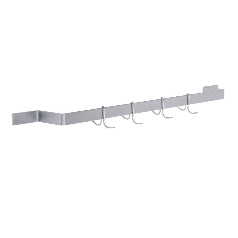 Standard Single Line Pot Rack, 48 (L) X 6 (W) X 2 (H) Over All