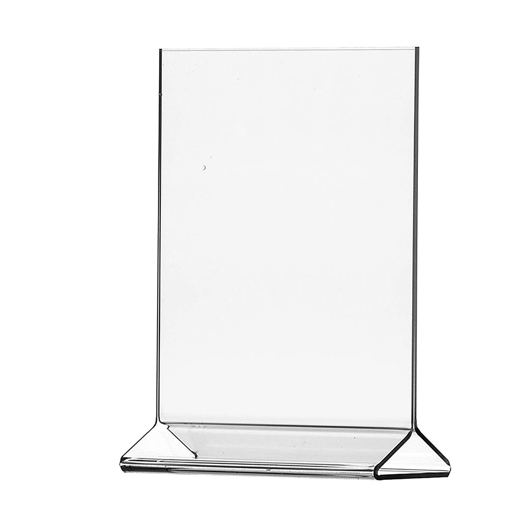Purchase marketing holders literature flyer poster frame letter notice menu pricing deli table tent countertop expo event sign holder display stand 8 5w x 11h pack of 10