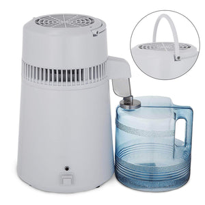 Discover the best vevor countertop water distiller 750w purifier filter with handle 1 1 gal 4l bpa free container perfect for home use white