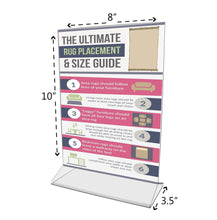 Select nice marketing holders literature flyer poster frame letter notice menu pricing deli table tent countertop expo event sign holder display stand 8w x 10h pack of 30
