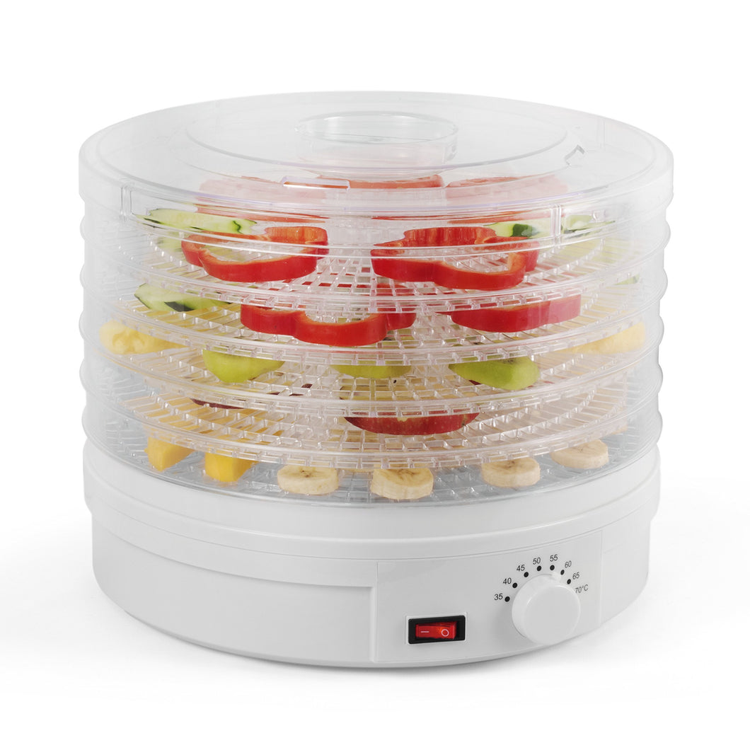 Heavy duty westinghouse food dehydrator beef jerky maker food preservation device food dehydration machine dried fruits and vegetables maker countertop small kitchen appliance wfd101w white