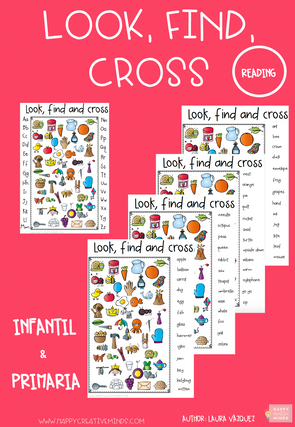 LOOK FIND AND CROSS