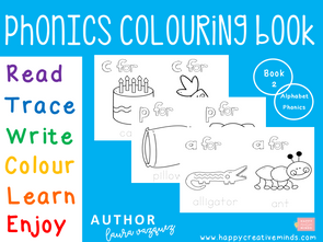 Phonics Colouring Book 2