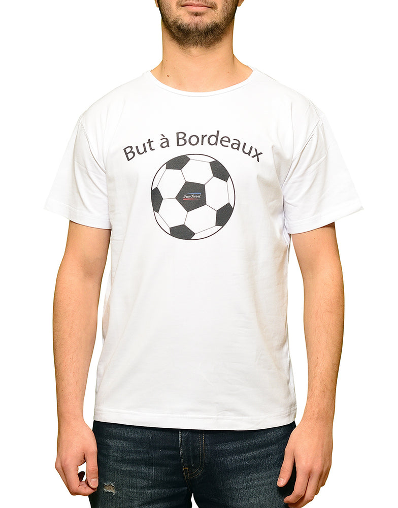 "T-shirt Blanc ""But à Bordeaux"" ⚽"