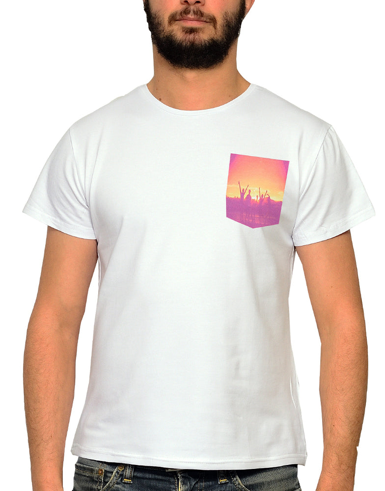 "T-shirt Blanc ""Sunrise"" 🌅"