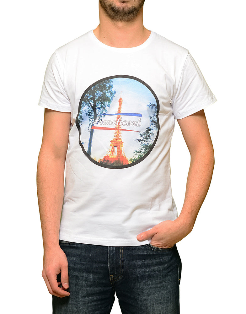 "T-shirt Blanc ""Paris"""