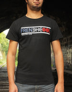 "T-shirt Noir ""Frenchcool Authentic"""