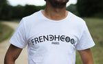 "T-shirt Blanc ""Frenchcool Paris"""