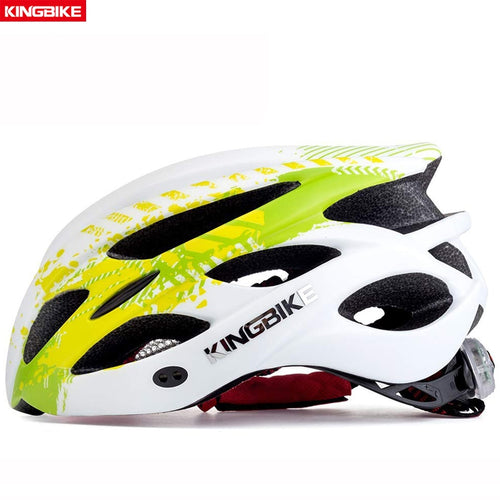 KINGBIKE Bike Helmet Ultralight Mountain Road With Light  M-XL - thebicyclingstores.com