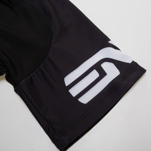 Black Cycling Jersey Set - thebicyclingstores.com