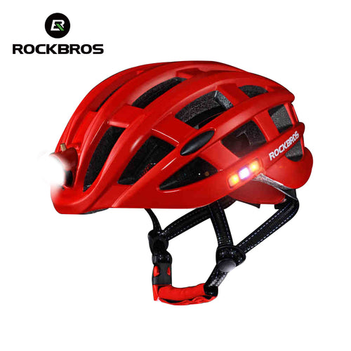 Ultralight Helmet With Light - thebicyclingstores.com