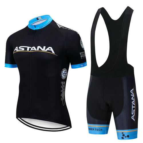 2019 Team ASTANA Cycling Clothing Set Mens - thebicyclingstores.com