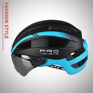 Mountainpeak Mountain Bike Helmet 2019 Cycling Helmet Male Eyeglass One Female Bicycle Helmet  Road Cycling Helmets - thebicyclingstores.com