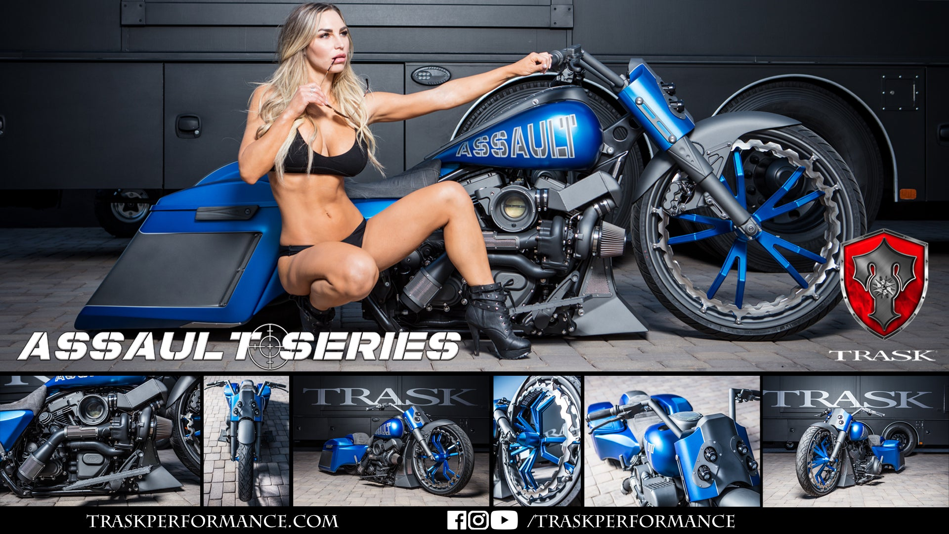 Trask Performance Assault Series Turbo Harley-Davidson motorcycles